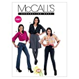 McCall's Patterns M6407 Misses' Lined Jackets, Size