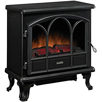 Duraflame DFS-750-1 Pendleton Electric Stove Heater, Black