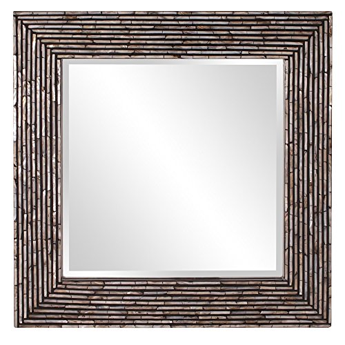 Howard Elliott 25095 Orlando Mirror, Mother of Pearl, - Of Bathroom Mirrors Mother Pearl Framed