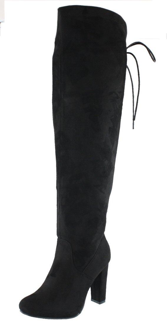 Top-Moda Women's Zola-1 Boot (9.0 B(M), BLACK)