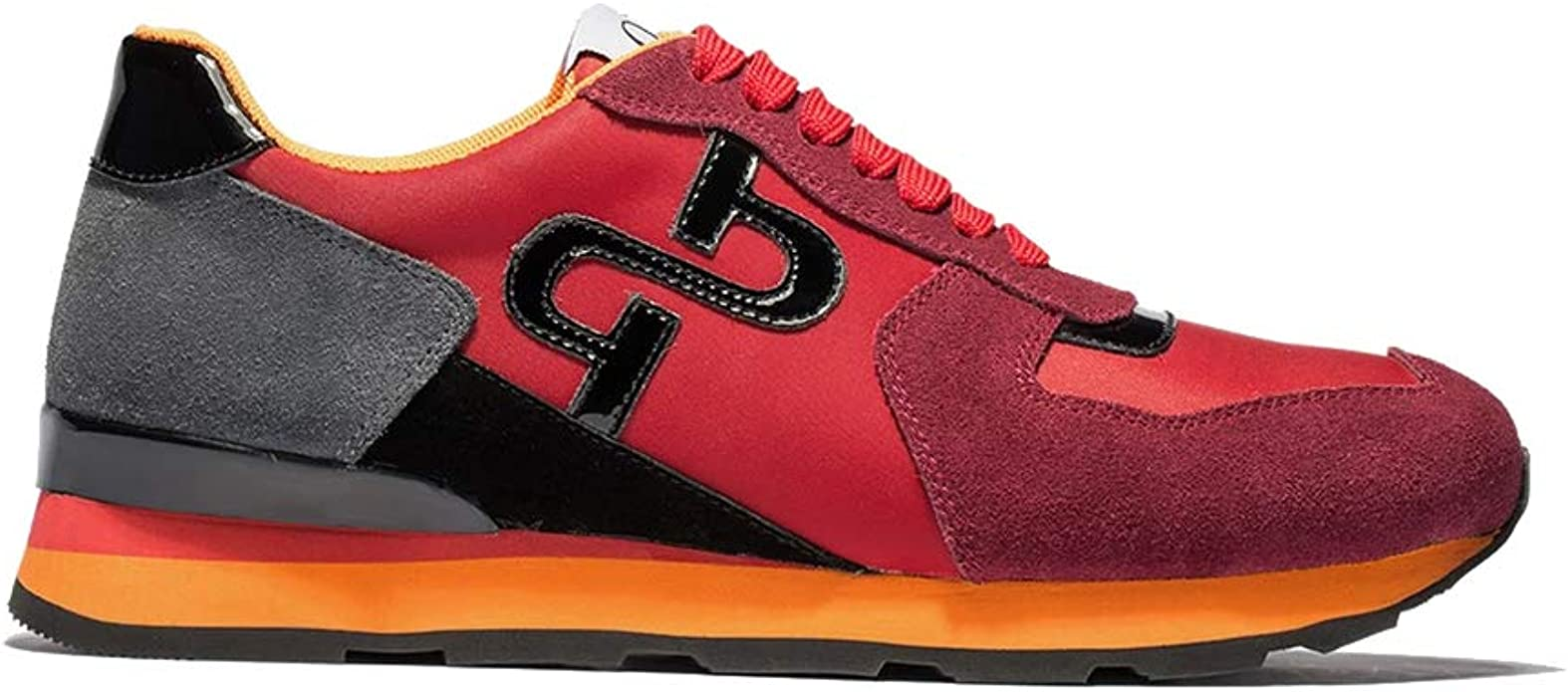 OPP Men's Casual Leather Energy Lace-Up
