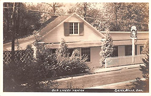 - Old Livery Tavern Gates Mills, Ohio postcard