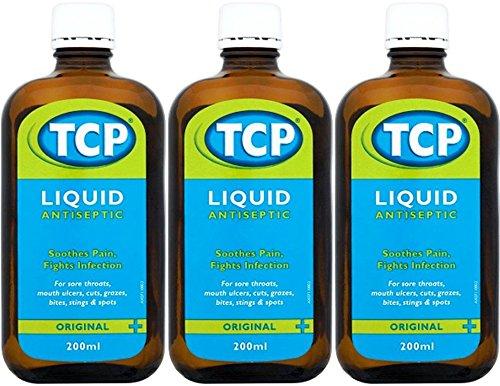 TCP Antiseptic Liquid 200ml x 3 Packs