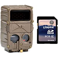 CUDDEBACK E3 Black Flash No Glow Infrared Trail Game Hunting Camera + SD Card
