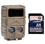 CUDDEBACK E3 Black Flash No Glow Infrared Trail Game Hunting Camera + SD Card