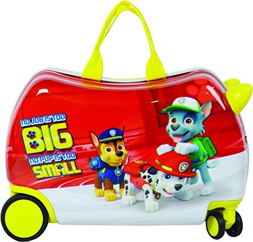 Nickelodeon Paw Patrol Carry On Luggage 20'' Kids Ride-On Suitcase Bonus Activity Pack by Nickelodeon (Image #3)
