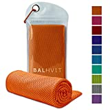 Kyпить Balhvit Cooling Towel, Cool Towel for Instant Cooling Relief, Chilling Neck Wrap, Ice Cold Scarf For Men Women, Microfiber Bandana - Evaporative Chilly Towel For Yoga Golf Travel на Amazon.com
