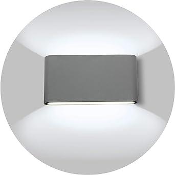 Classique Mural Incl 6w LED Blanc Lampe Mur Mur-de salle d/'eau murale éclairage