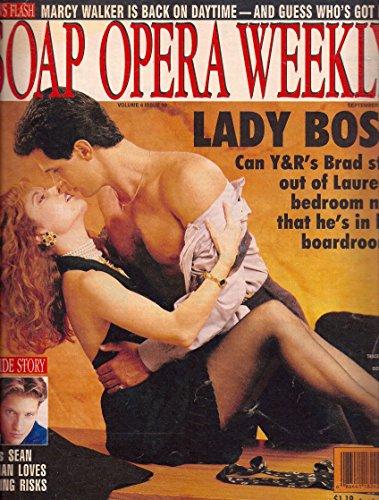Tracey E. Bregman & Don Diamont (Young & the Restless) l Sean Kanan - September 28, 1993 Soap Opera Weekly