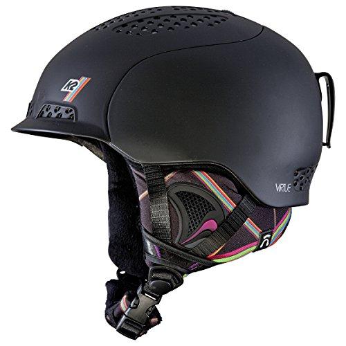 K2 2013 Virtue Ski Helmet, Small, Black