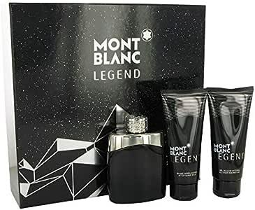 Mont Blanc Legend - Estuche para hombre: Amazon.es: Belleza