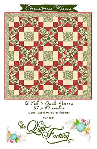 The Quilt Factory Christmas Kisses Quilt Pattern QF1831