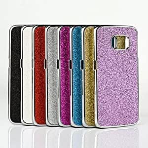 Flash powder Case for Samsung Galaxy S6 edge (Assorted Colors) , Rose