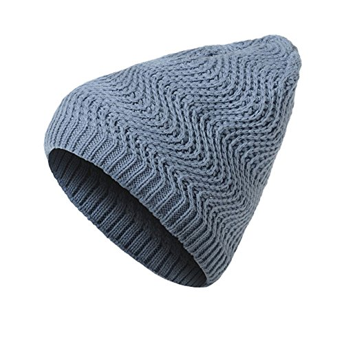 CHIDY Unisex Men Solid Color Wave Pattern Hiking