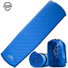 Self Inflating Sleeping Pad – Camping Sleeping Pad for Camping & Backpacking – Used as Camping Pads for Sleeping…
