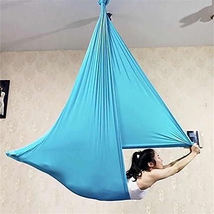 Amazon.com: XIAOLI& Anti-gravity Aerial Yoga Swing Hammock ...
