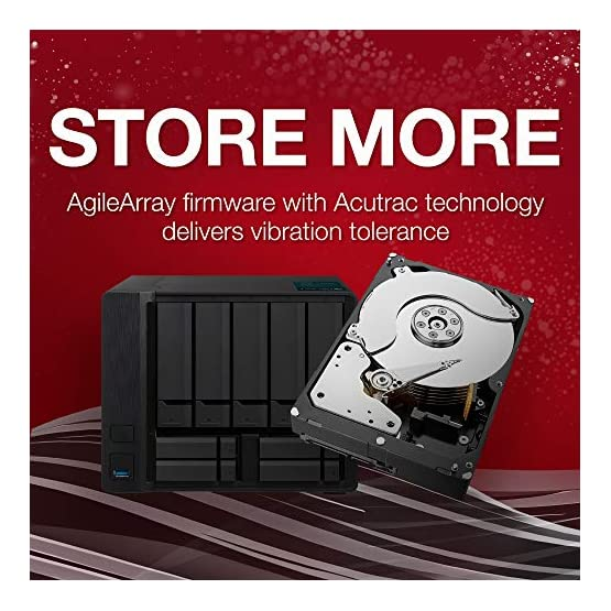 Seagate IronWolf 8Tb NAS Internal Hard Drive HDD 3.5 Inch SATA 6GB/S 256MB Cache for Raid Network Attached Storage… 51d1cuSp4dL. SS555