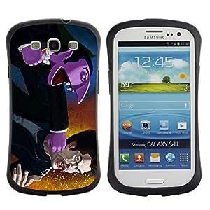 Hybrid Anti-Shock Bumper Case for Samsung Galaxy S3 / Vampire Fight