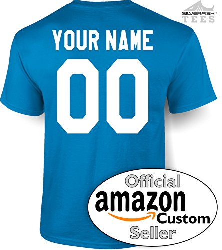Customized Your Name/Number Personalized Jersey T-Shirt Men/Women Youth/Adult Novelty ()