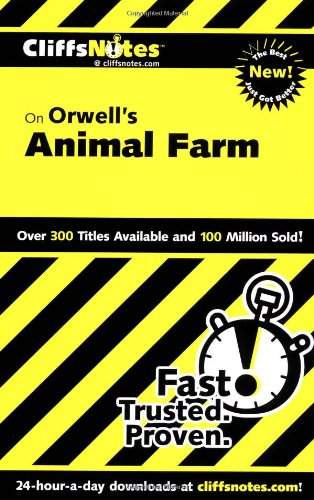 CliffsNotes on Orwell's Animal Farm (Dummies Trade)