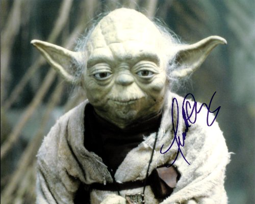 Yoda Signed - Frank Oz as Yoda Star Wars Signed Autographed 8 X 10 Reprint Photo
