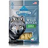 BLUE Wilderness Wild Bones Grain Free Dental Chews, 10 oz., Large Bones for Dogs