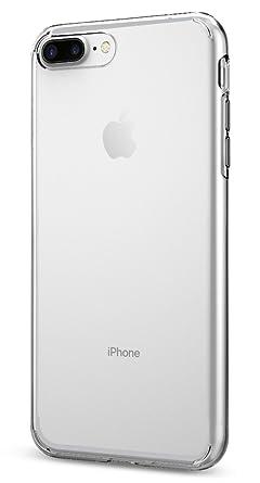 iphone 7 plus silver clear case. amazon.com: spigen liquid crystal iphone 7 plus case with slim . iphone silver clear c
