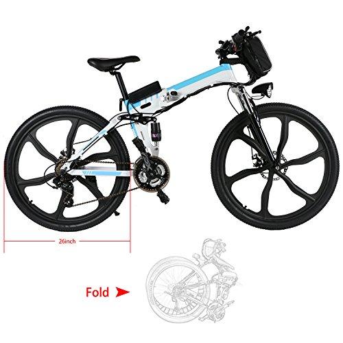 Speedrid Electric Folding Mountain Bike with 26
