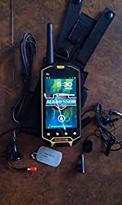 Runbo X5-4.3 Inch Screen Rugged Android 4.0 3G Phone with 1GHz Dual Core, Dual SIM, IP67 Grade Waterproof, GPS, Walkie Talkie
