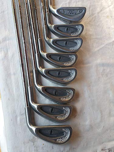 Ping 3 Irons - Ping Eye 2 Irons Set 3-PW Black Dot (Steel ZZ-Lite STIFF) Eye2 Golf