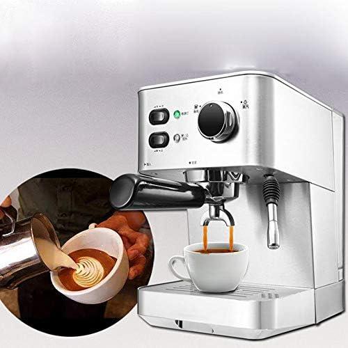 BTASS Espressomaschine 20 Bar, Edelstahlgehäuse Milchaufschäumer, Heißwasserdüse, Espresso Auf Knopfdruck