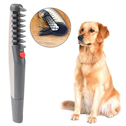 SaveStore Electric Pet Dog Grooming Comb Cat Hair Trimmer Knot Out Remove Mats Tangles Tool Pet Hair Scissor Trimmer Dog Hair Beauty Tools