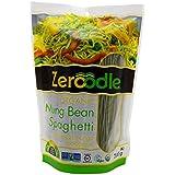 Zeroodle 6-Pack Low Net Carb Gluten Free Vegan Pasta - Organic Mung Bean Edamame Spaghetti Noodles - High Protein