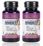 Purity Products - Dr. Cannell's Advanced Vitamin D Women's Formula, 60 vegetarian capsules - 2 Pack