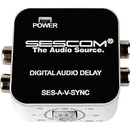 Sescom SES-A-V-SYNC A/V Lip-Sync Corrector-by-Sescom