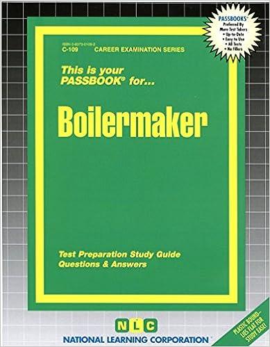 Boilermakerpassbooks passbook series jack rudman 9780837301099 boilermakerpassbooks passbook series jack rudman 9780837301099 amazon books fandeluxe Choice Image