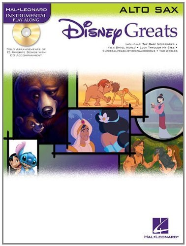 Hal Leonard Disney Greats for Viola Book/CD Instrumental Play-Along