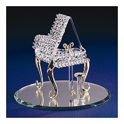 Top 10 Jewelry Gift Baby Grand Piano Glass Figurine