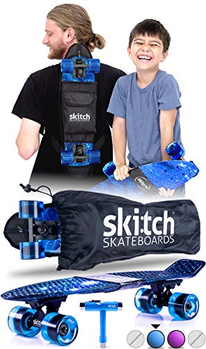 Skitch Premium Beginner Skateboard for Adults