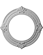 Ekena Millwork 13 1/8-Inch OD x 8-Inch ID x 5/8-Inch Benson Ceiling Medallion