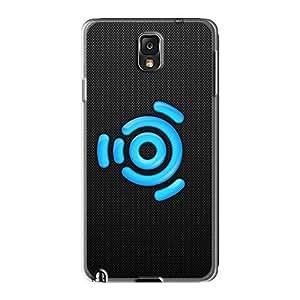lintao diy Galaxy Note 3 Case Bumper Tpu Skin Cover For Ubuntu Carbon Accessories