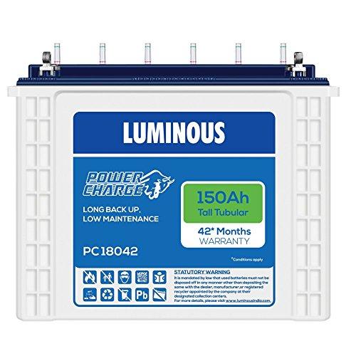 Luminous PC 18042 150Ah Tubular Battery