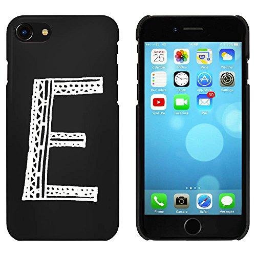 Schwarz 'Großbuchstabe E' Hülle für iPhone 7 (MC00062997)