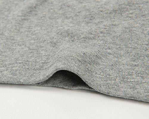 Leveret Solid Turtleneck 100% Cotton (8 Years, Light Grey) by Leveret (Image #5)