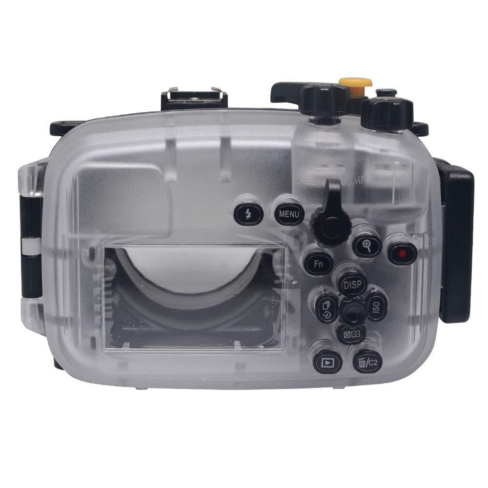FidgetFidget Mcoplus 防水水中カメラハウジングケース 40m/130フィート A6300用   B07M8R84LV