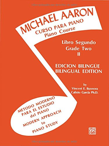 Descargar Libro Piano Course , Bk 2: Spanish, English Language Edition Michael Aaron