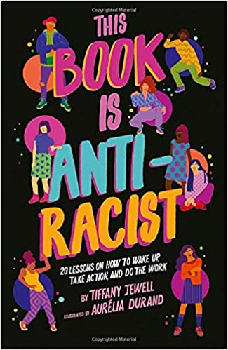 book cover:  This book is anti-racist