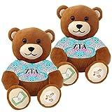 Zeta Tau Alpha ''Big Sister'' and ''Little Sister'' Bluetooth music-playing teddy bear gift set of 2
