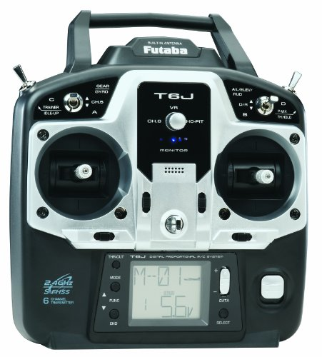 Futaba 6J 6-Channel S-FHSS 2.4GHz Radio  - Futaba Rc Transmitter Shopping Results