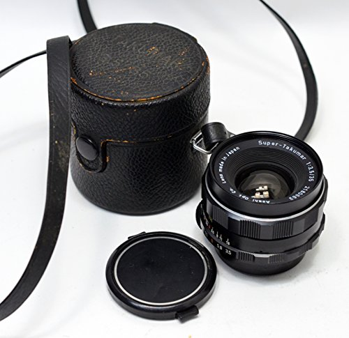 PENTAX Super Takumar 35mm F3.5 F/3.5 M42 Screw Mount MF Lens (S/N:781351)#55860 Pentax M42 Screw Mount
